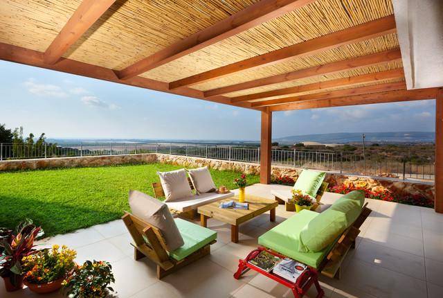 exterior contemporary-patio