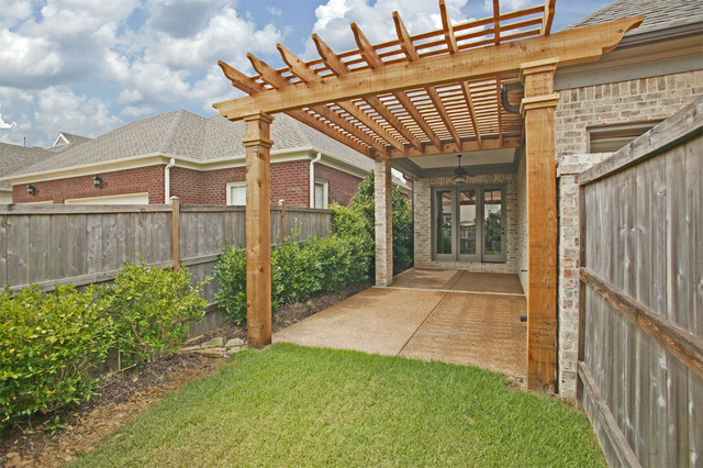 Exterior Elevations traditional-patio