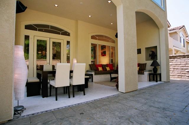 Exterior loggia contemporary patio orange county for Garden loggia designs