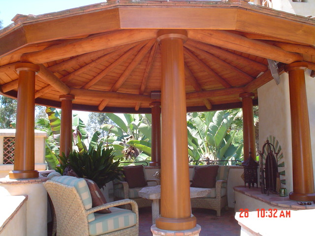 Exterior Painting traditional-patio