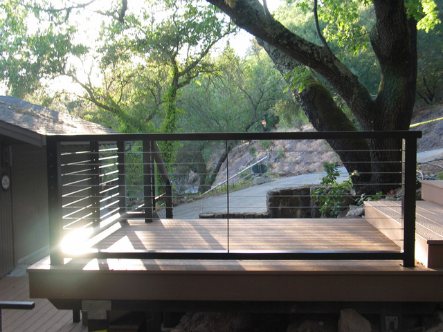 Exterior Railings Contemporary Patio San Francisco By Artistic Metalworks Design
