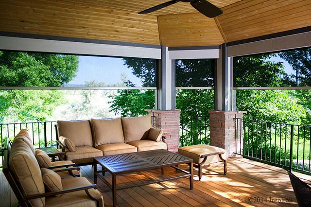 Exterior Solar Shade - Oasis Series modern-patio