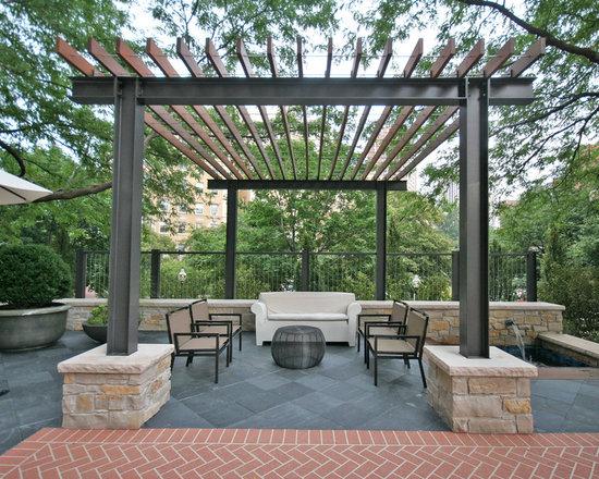 Modern pergola home design ideas renovations amp photos