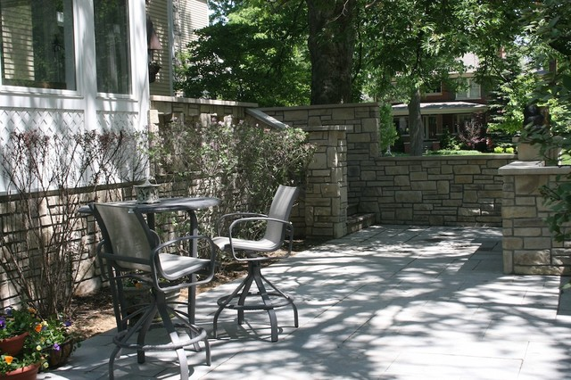 Exterior Stone for Backyard Projects traditional-patio