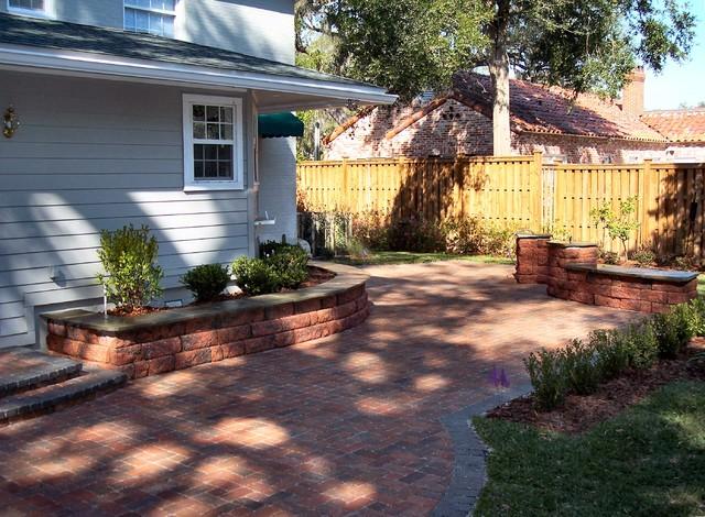 extravagant secret garden traditional patio