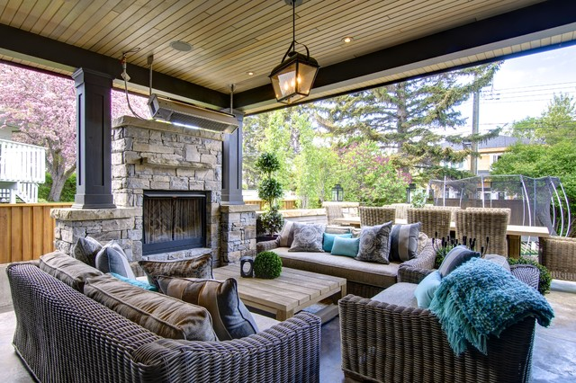 Fabulous City Living Craftsman Patio Calgary By