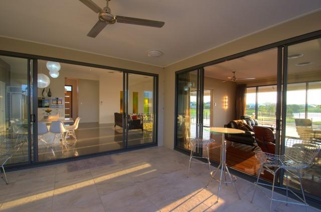 Fairweather Display Home contemporary-patio