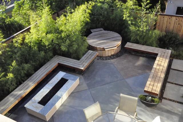 fallingcliff contemporary-patio