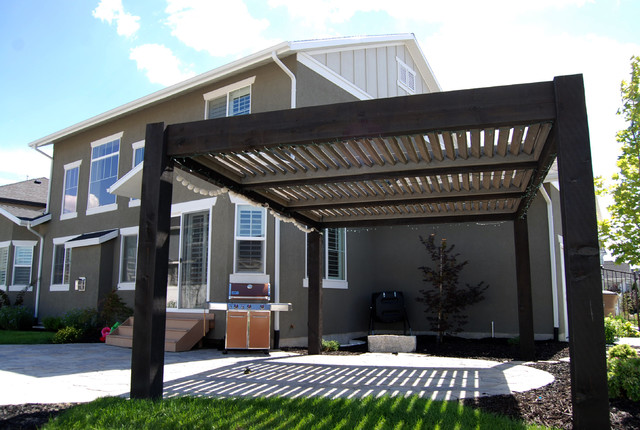 Custom Pergola Arbor Kits Patio