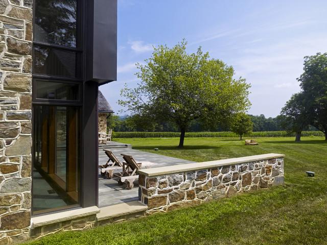Farmhouse Addition farmhouse-patio