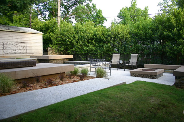 Faulkner contemporary-patio