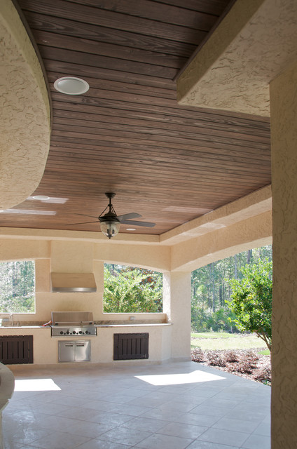 Patio Ceiling Beams : Faux wood beam ceiling designs traditional patio new