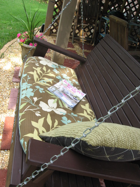 Favorite swing- southernhospitality traditional-patio
