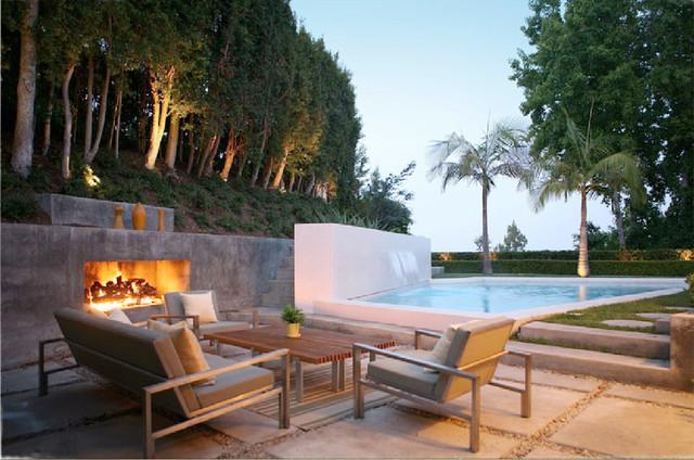 FCB:Design (Markus Canter) Project: Savona Road, Bel Air, CA 90077 modern-patio