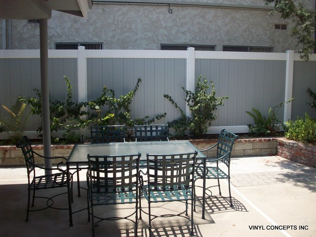 FENCING AND GATES Traditional Patio Los Angeles By