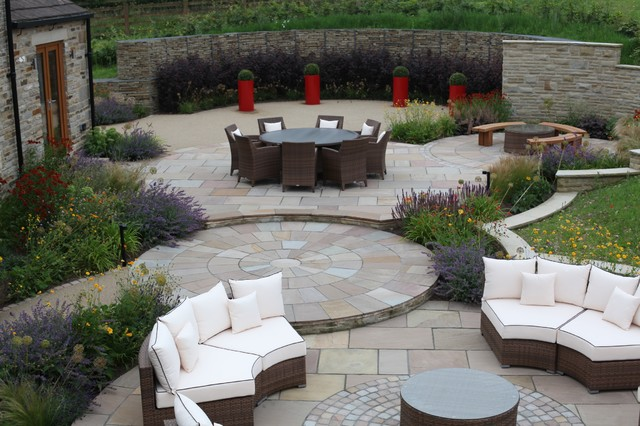 Feng shui garden traditional patio other by for Feng shui garden layout