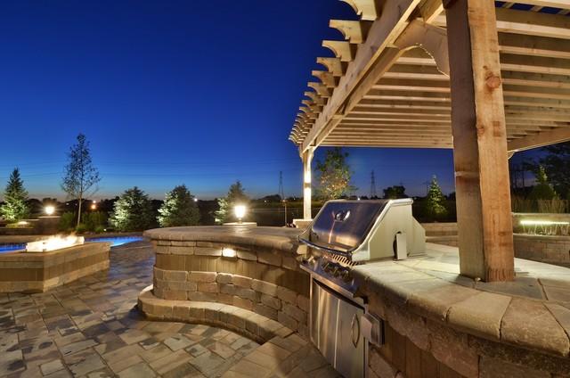 Fiberglass Pool and Outdoor Living, Brookmeadow Estates, Frankfort contemporary-patio