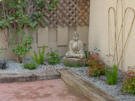 Fijewski outdoor patio - Asian - Patio - san francisco - by Apartment 46 for the Home