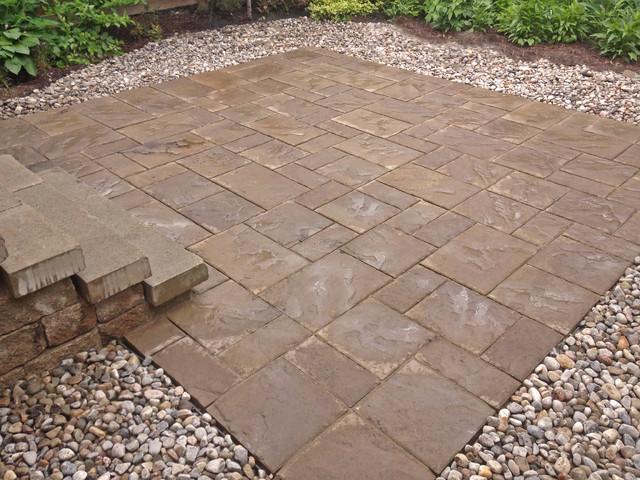 Finished interlock projects modern patio ottawa by for Courtyard landscaping ottawa