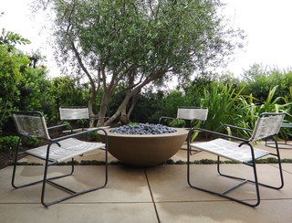 Fire Bowl Fire It Eclectic Patio Los Angeles By