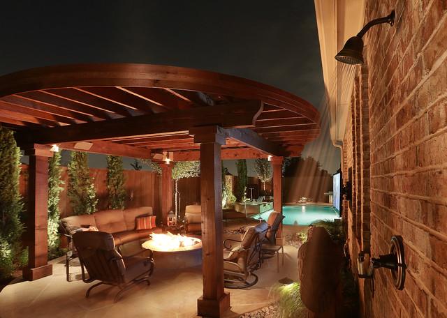 Fire Features mediterranean-patio