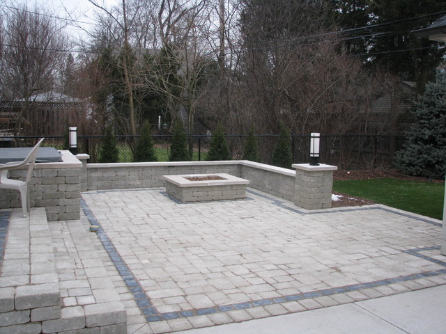 Fire Features contemporary-patio