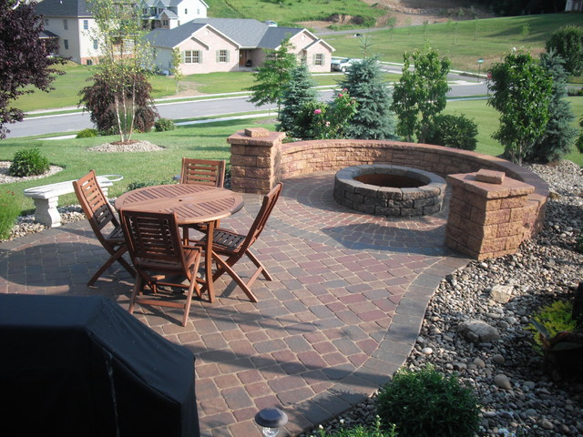 Fire Features traditional-patio