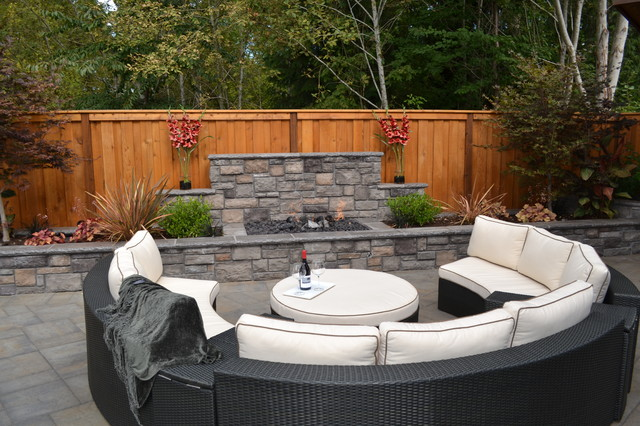 Fire Pit Traditional Patio Portland By All Oregon