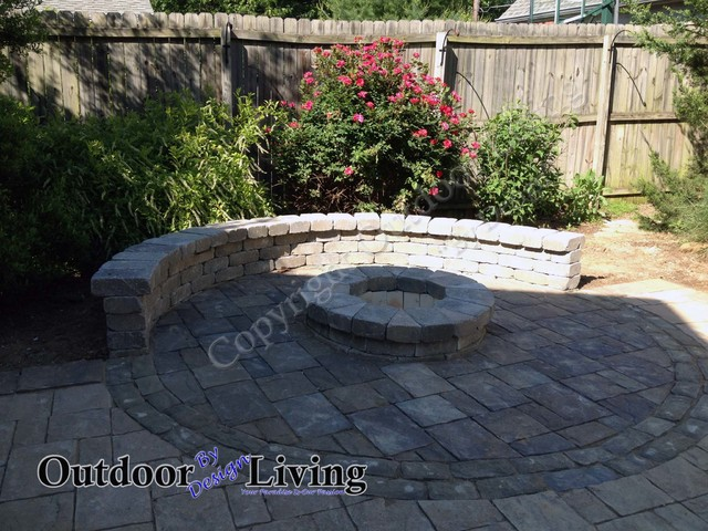 Fire Pit Ideas for your Kentucky Landscape Eclectic Patio Louisville