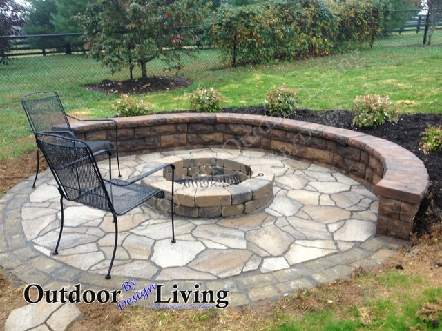 Exceptional Fire Pit Ideas For Your Kentucky Landscape Eclectic Patio
