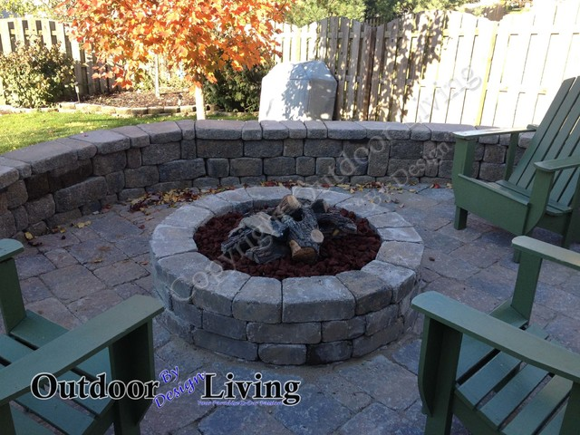 Fire Pit Ideas for your Kentucky Landscape eclectic-patio