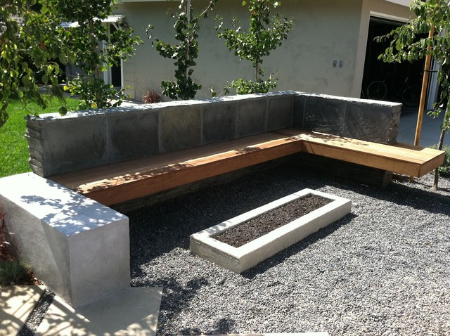 Fire Pit Contemporary Landscape Los Angeles By