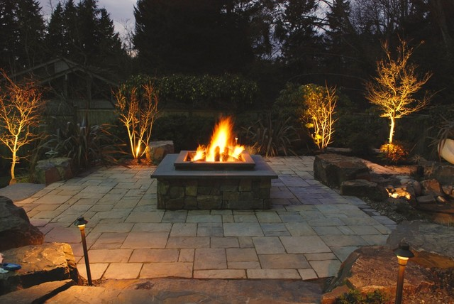 Fire Pits traditional-patio