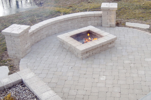 Fire Pits Traditional Patio Chicago By J B