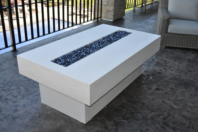 Fire Table Contemporary Patio salt lake city by
