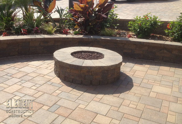 Firepits By Element Construction Inc. traditional-patio