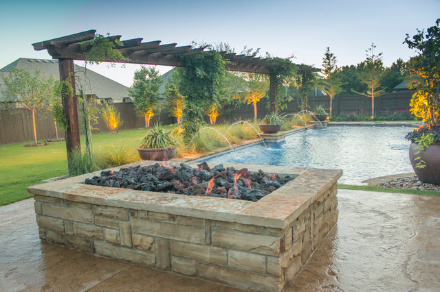 Fireplaces Fire Pits Large Rectangular Stone Fire Pit Arts