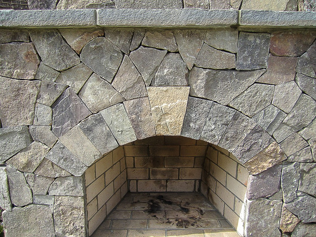 Fireplaces & Pits traditional-patio