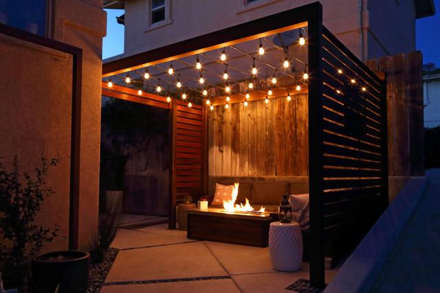 Fireside Lounge Modern Patio San Luis Obispo By