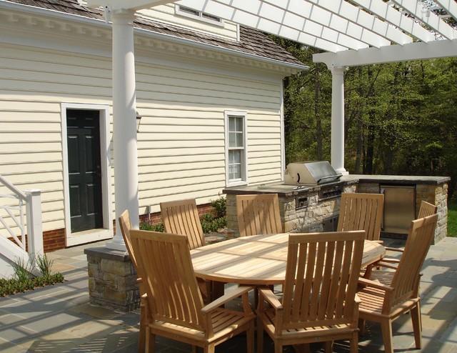 Fishing Creek Farms Residence traditional-patio