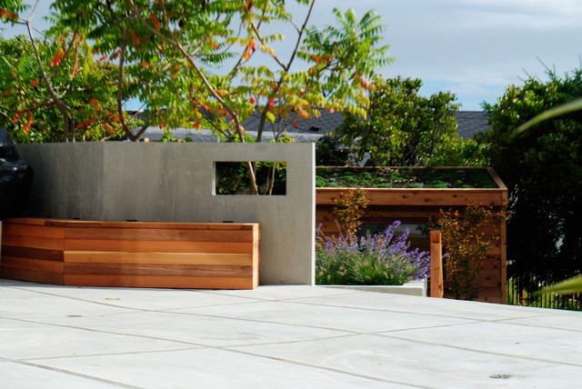 Fit for a Family contemporary-patio