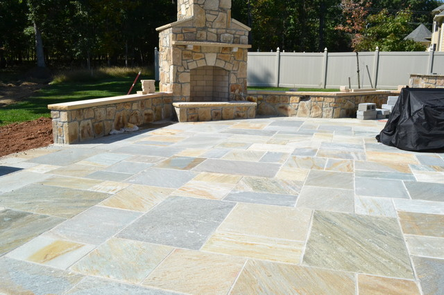 Flagstone traditional patio dc metro by irwin stone Flagstone patios colleyville tx
