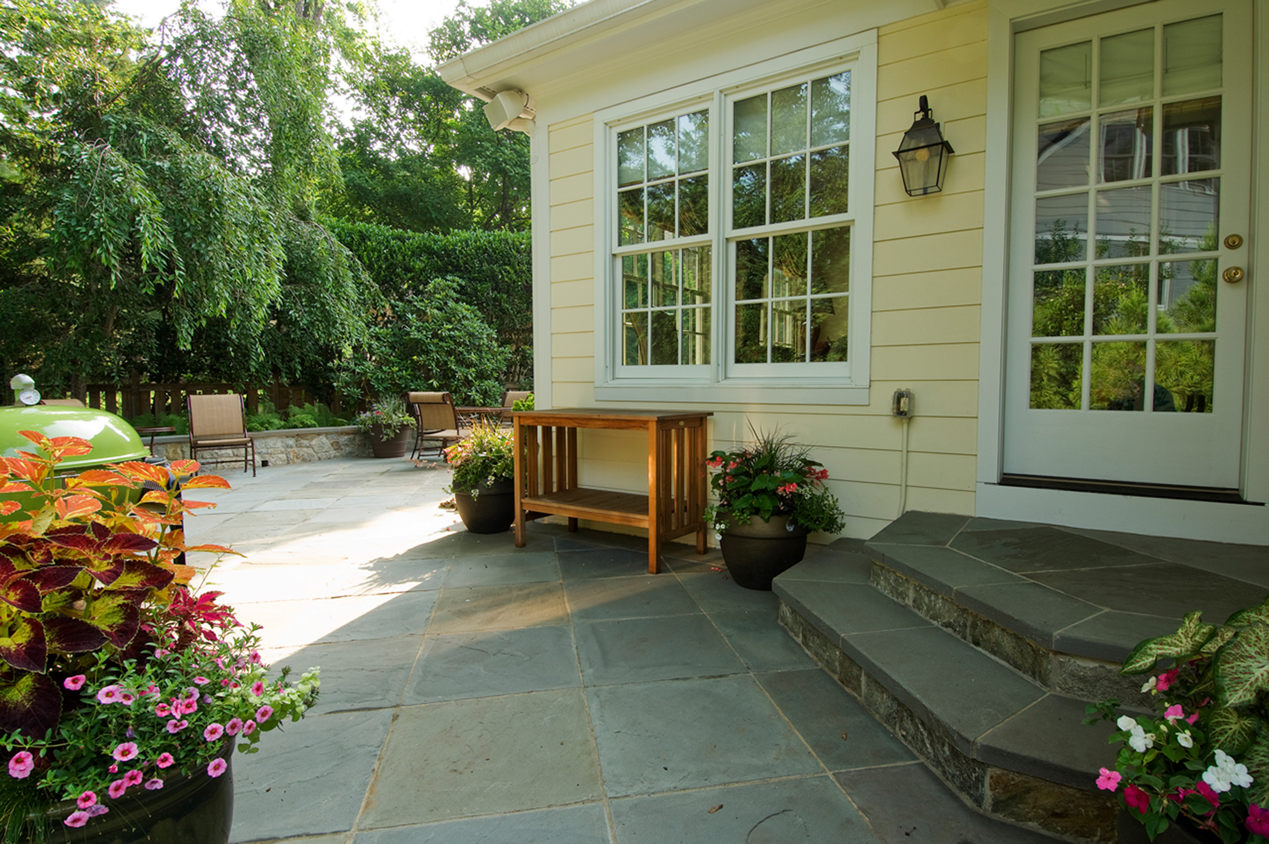 Flagstone Patio and Steps