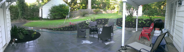 Backyard Enclosures Lombard : Flagstone Patio & Walkway  Transitional  Patio  philadelphia  by