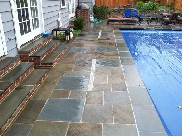 Pool Decking traditional-patio