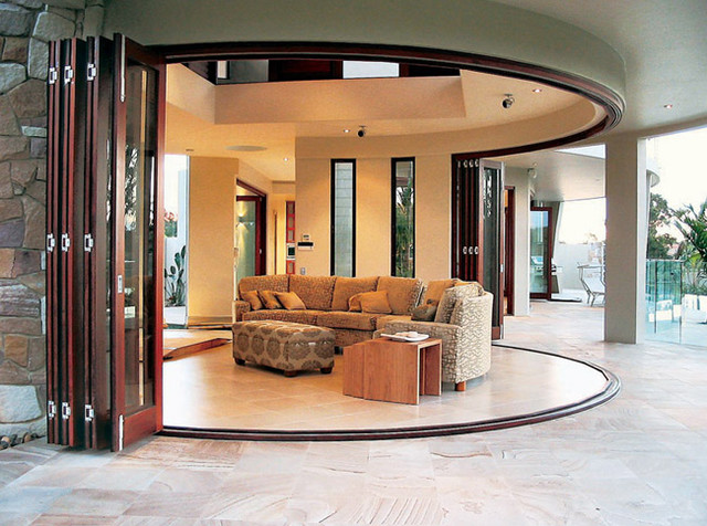 Exterior Folding Glass Doors 640 x 476