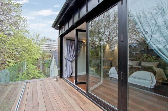 Folding Glass Walls Canada Modern Patio By Solar