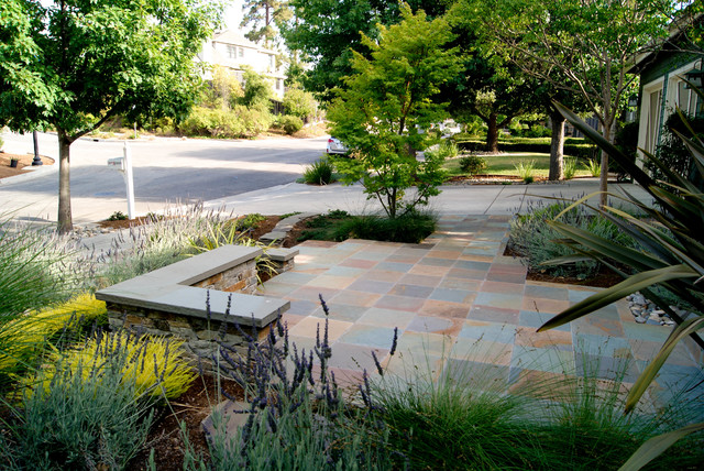 Foothills of Cupertino CA. traditional-patio