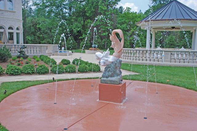 Delightful Patios Galore Fountains Galore Mediterranean Patio Dc Metro By .