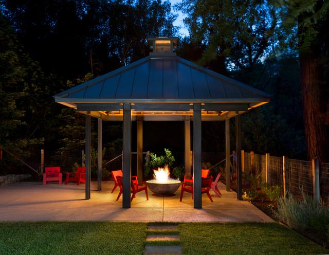Fox Hollow transitional-patio